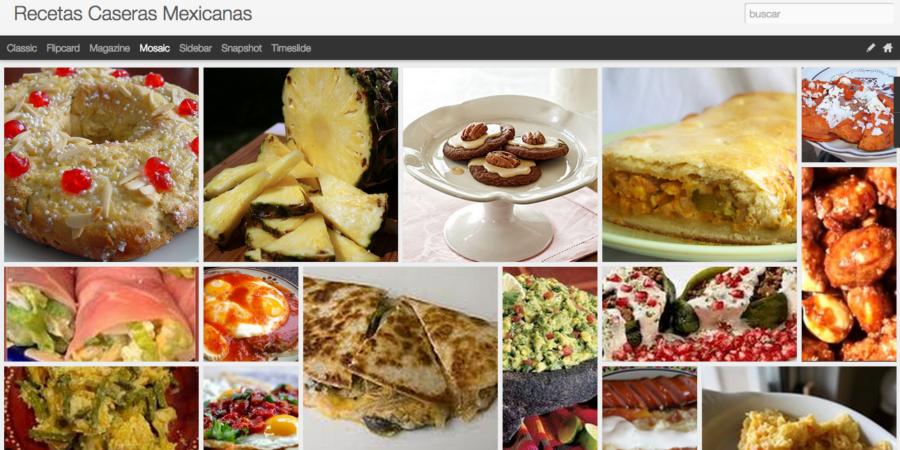 Recetario – Recetas de cocinas Mexicanas en blogger.