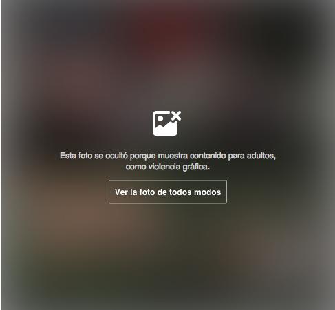 Ahora Facebook limita las fotos agresivas o con violencia