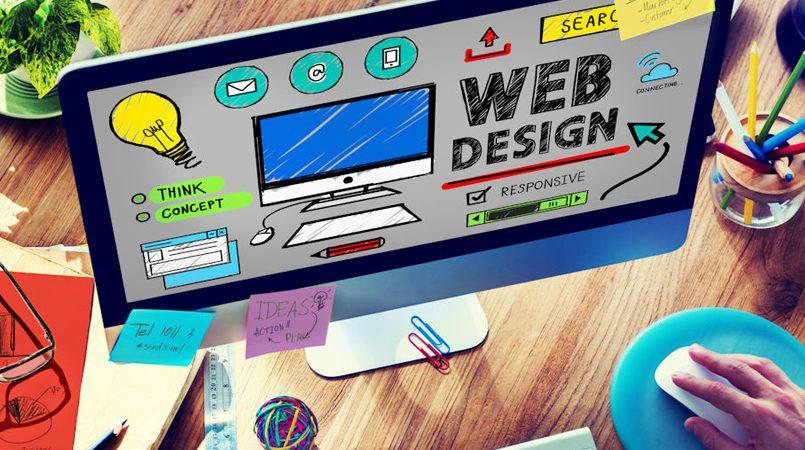 Cómo se diseña una página web.