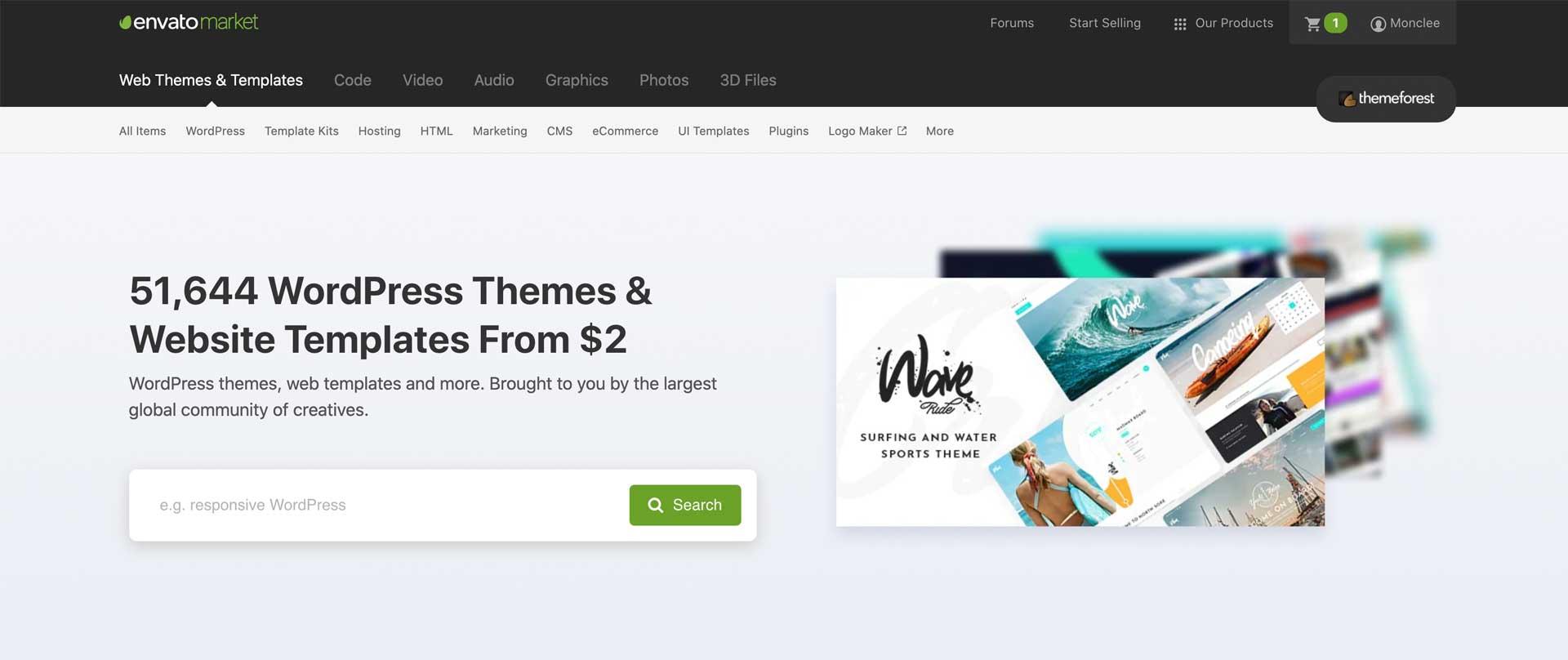Themeforest.net - Guía para WordPress 2021