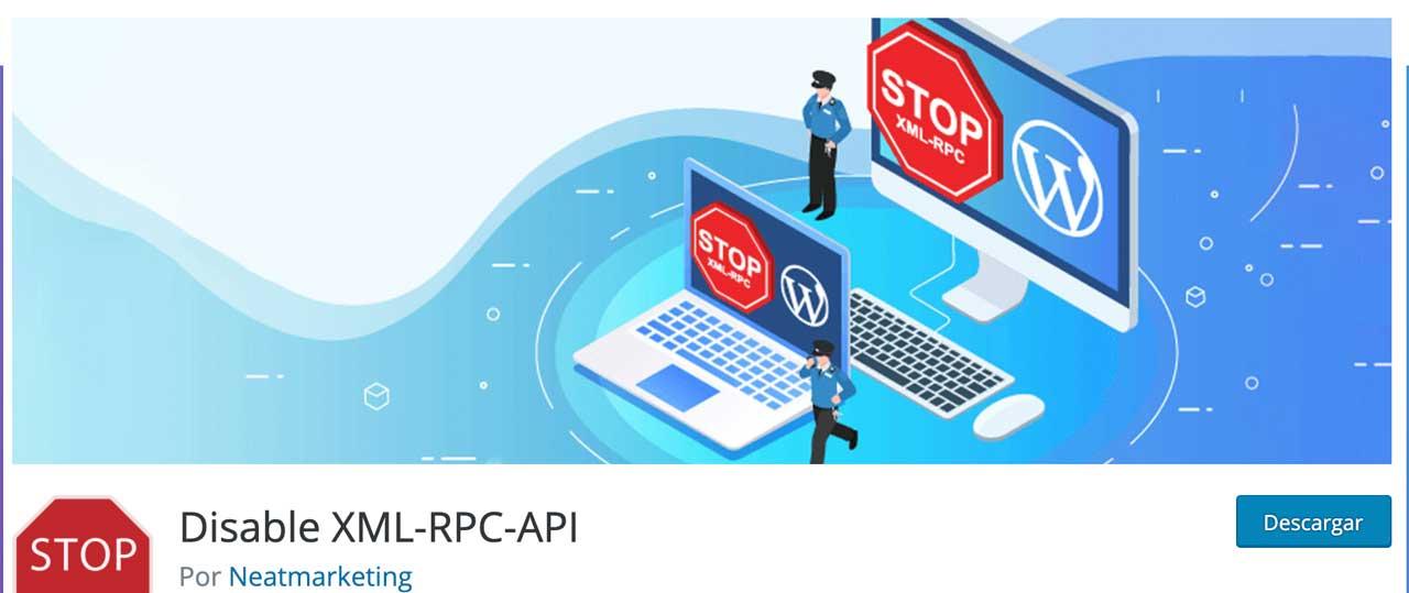 Disable XML-RPC-API